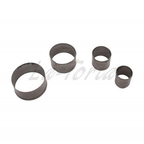 Набор металлических выемок Baking Круги (4шт)