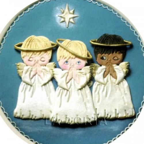 Пэчворк Рождественский Ангел