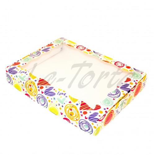 Коробка для пряников Love Mix(5шт) 15см*20см