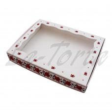 Коробка для пряников 15см*20см Вышивка (5шт)
