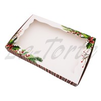 Коробка для пряников 20см*30см Зимняя (5шт)