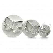 Плунжер для мастики PME - Бабочки (3 шт)