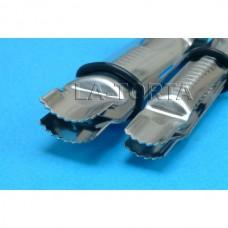 Набор щипцов РМЕ - Закрытые изогнутые зазубренные (13мм, 19мм)