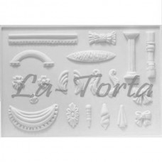 Латикс-скрол для шоколада CelCraft Декор