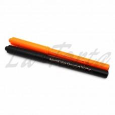 Фломастеры пищевые Americolor черный/оранжевый  2 шт.