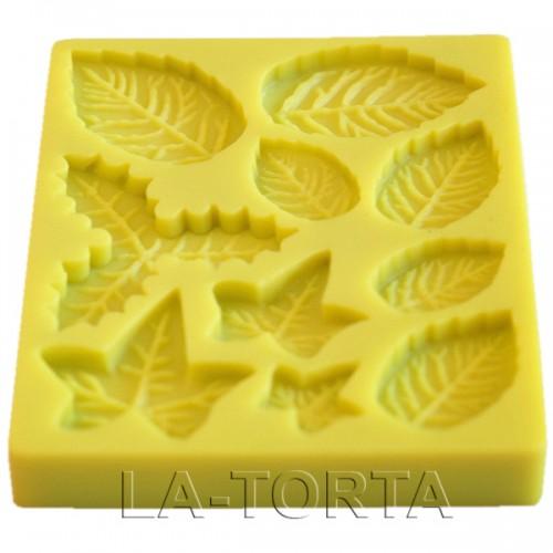 Набор силиконовых молдов Листья