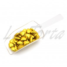 Декор Buratti сердечки золото (100гр)