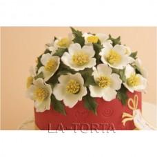 Пэчворк Розы к Рождеству