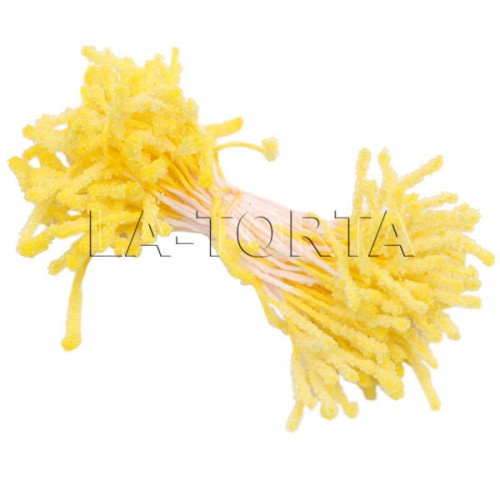 Махровые тычинки Lucia Craft (желтые)