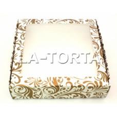Коробка для пряников 20см*20см Золото (5шт)