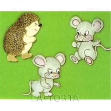 Печворк Їжачок і миші