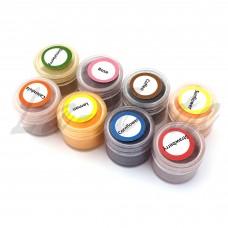 Набор красителей сухих натуральных Food Colours 8 шт. по 4 гр.