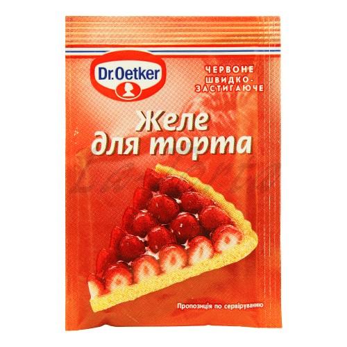 Желе для торта красное Dr.Oetker