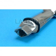 Щипцы РМЕ - Открытые V-образные зазубренные (13мм)