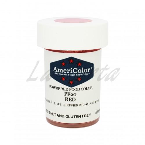 Красная Сухая кондитерская краска Americolor