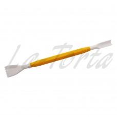 Инструмент для мастики PME - Гребешок и узкая канавка