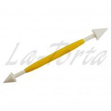 Инструмент PME для мастики - Гладкий и зубчатый конусы