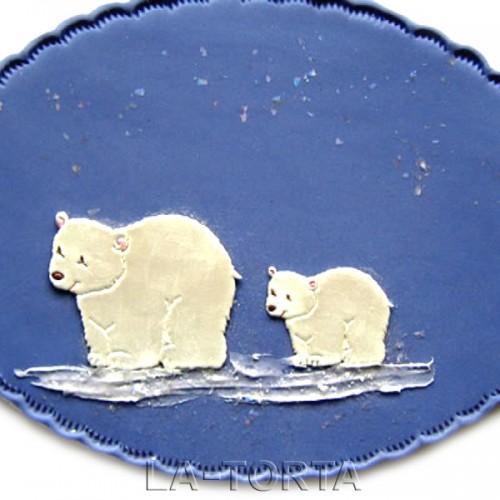 Пэчворк Белые медведи