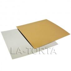Подложка под торт квадратная 26 см (10шт)