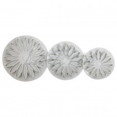 Набор плунжеров для мастики Цветок герберы (3 шт)