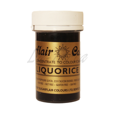 Гелевый краситель Sugarflair Лакрица (Liquorice)