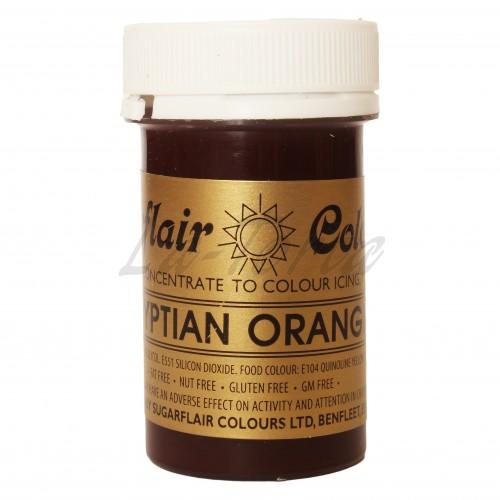 Гелевый краситель Sugarflair Египетский апельсин