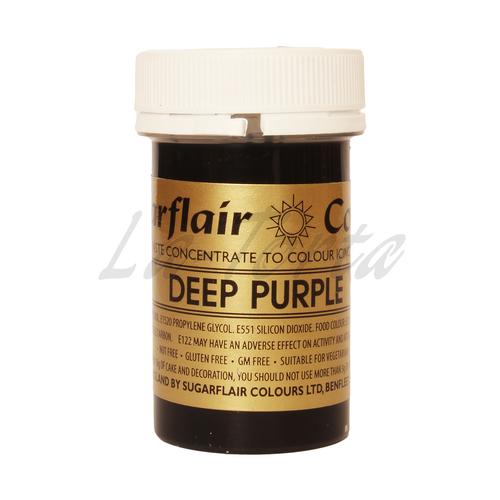 Гелевый краситель Sugarflair Темно-фиолетовый (Deep purple)