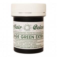 Гель-паста концетрат  Sugarflair Max Зеленый лист (Foliage Green Extra)