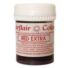 Гель-паста концетрат  Sugarflair Max Красный (Red Extra)