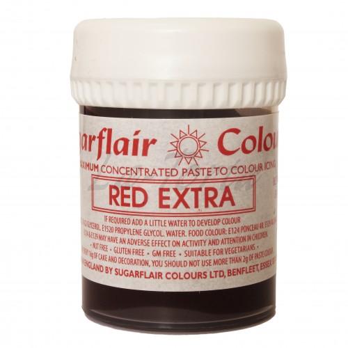 Гель-паста концетрат  Sugarflair Max Красный