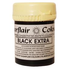 Гель-паста концетрат  Sugarflair  Max Черный  (Black Extra)