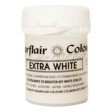 Гель-паста концетрат  Sugarflair  Extra Белый
