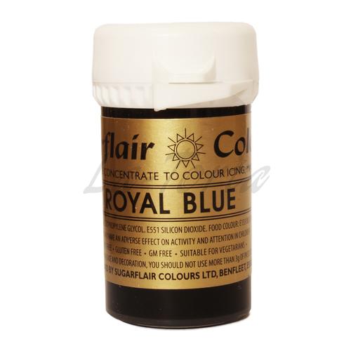 Гелевый краситель Sugarflair Королевский синий (Royal blue)