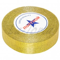 Золотистая лента для декорирования