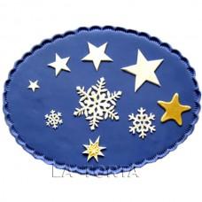 Пэчворк Снежинки и Звезды