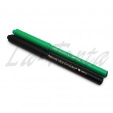 Фломастеры пищевые Americolor зеленый/черный 2 шт.