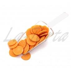 Шоколадные диски апельсиновые (глазурь кондитерская), 500 гр.