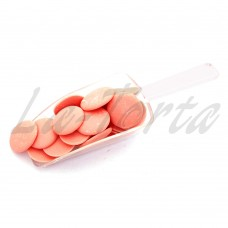 Шоколадные диски клубничные (глазурь кондитерская), 500 гр.