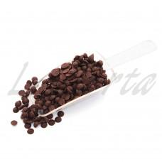Капли шоколадные черные 500 гр.