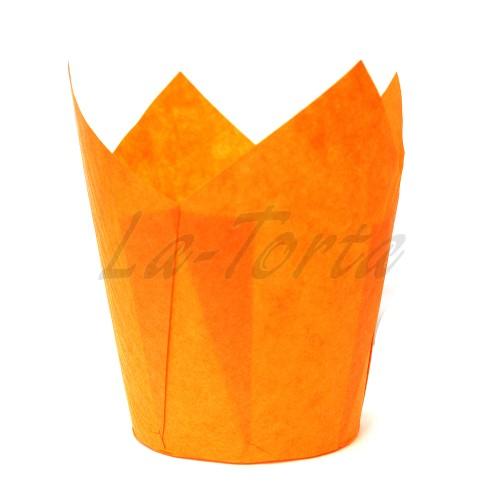 Паперові формочки Тюльпан - Помаранчеві (150шт)