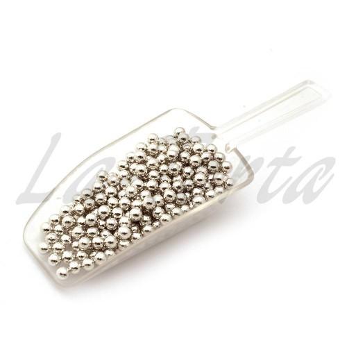 Драже серебряный жемчуг 5 мм