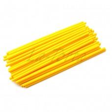 Палочки для кейк-попсов желтые, 15 см