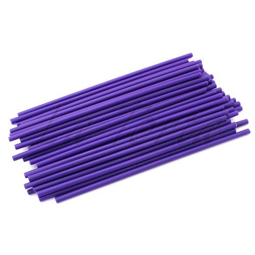 Палочки для кейк-попсов фиолетовые, 15 см