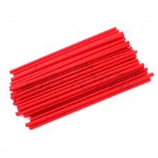 Палочки для кейк-попсов красные, 15 см