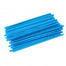 Палочки для кейк-попсов синие, 15 см