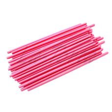 Палочки для кейк-попсов розовые, 15 см