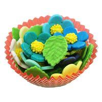Сахарный декор Цветочки ассорти