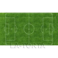 Вафельный лист Футбольное поле 20х29