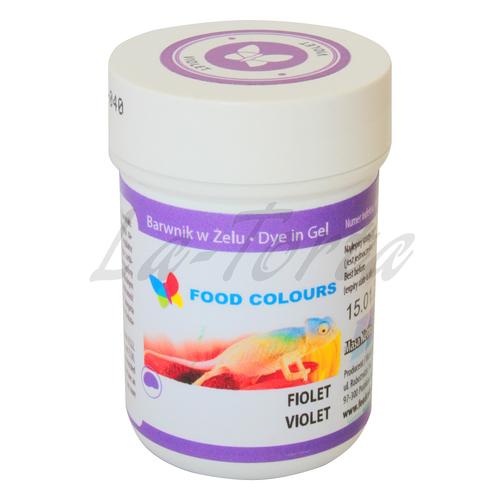 Гелевая краска Food Colours Фиолетовая