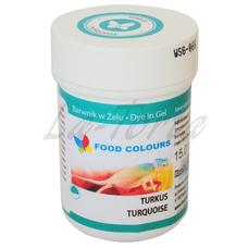 Гелевая краска Food Colours Бирюза